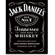 Poster Decorativo Anuncio Lamina Jack Daniel