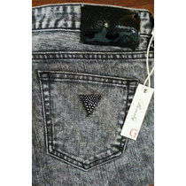 Guess Jeans Skinny Para Dama Modelo Beverly Talla 32r. Seven