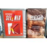 Kit 4 Filtros Wega + Selenia K 15w40 X 4l Fiat Uno Way
