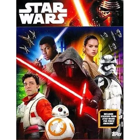Album Figurinhas Star Wars Despertar Da Força Comp. P/ Colar