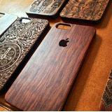 Funda Protector Case Madera Iphone 6/6s/7