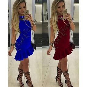 Vestidos Femininos Curto Festa Panicat Moda Online S/renda