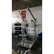 Maquina Pull Down Frontal Articulado Cracken Gym Gimansio