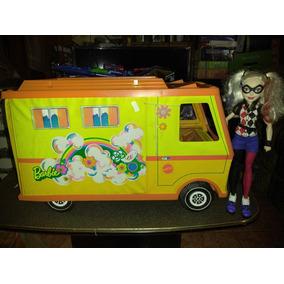 Barbie Mattel Camper Van Rv Vintage 1970 Harley Quinn