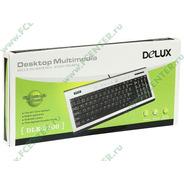 Teclado Multimedia Delux Dlk-5100 Resistente Agua *nuevo*