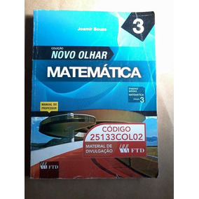 Livro- Coleção Novo Olhar Matemática- 3 - Joamir Souza