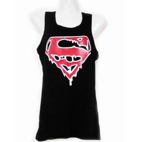 Bbd Top De Mujer De Superman Sangriento Skpalace