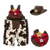 Stylesilove Bebé Sheriff Vaquero Trajes De Sombrero Y Pañuel