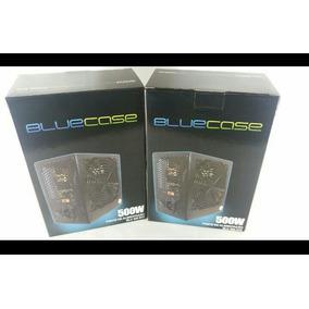 Fonte Atx Bluecase 500wts 24 P Pci Original 500w Real.