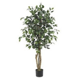 Árbol Casi Natural 5299 Ficus Seda 4-feet Verde