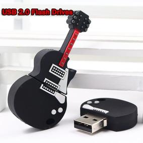 Promoção Pen Drive 32gb Guitarra Barato Personalizado Lindo