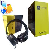 Audifono Con Microfono Sonyxer Wave 6 Almohadilla Estereo 3d