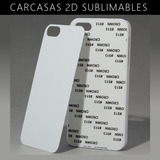 Tapa Carcaza Smartphone Para Sublimar 2d X 12unidades