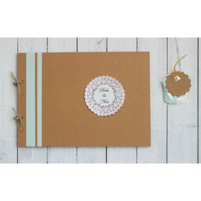 Libro De Firmas Para Casamiento - Blondas 2 Fotos X Hoja