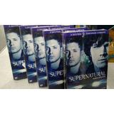 5 Unidades Bon Supernatural 2 Temporada Original Lacrada