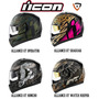 Cascos Icon Alliance Gt - Operator, Shaguar, Watch Keeper