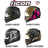Cascos Motos Icon Alliance Gt - Operator, Shaguar, Watch