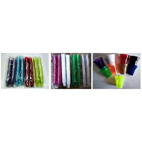 Calice Para Santa Ceia Colorido Embalagem Com 50 Unidades