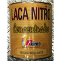 Laca Nitro Concentrado Reinco Negro Brillante 1/4 Gl