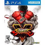 Street Fighter V Para Ps4 Disco Fisico Sellado Nuevo