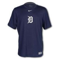 Nike Mlb Authentic Detroit Tigers Playera Ac Legend Nueva S