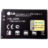 Bateria Bl-42fn P/ Celular Lg P350 Original Com 1280mah