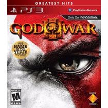 God Of War 3 - Midia Fisica - Ps3 - Novo