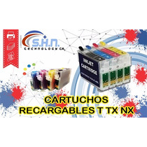Cartuchos Recargables Epson T22 Tx120 Tx120 Nx127 Nx130