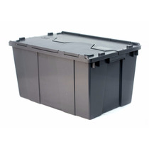 1015 / Caja De Plástico/ Bisagras / Medidas (cm) 60-40-32h