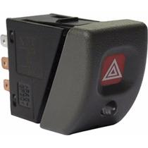 Botao Interruptor P/ Pisca Alerta Corsa 94/... C/alarme Led