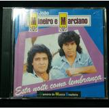 Cd João Mineiro E Marciano - Esta Noite Como Lembrança 1992