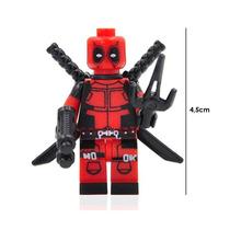 Deadpool Marvel Figura Compatible Lego Para Armar Clasico