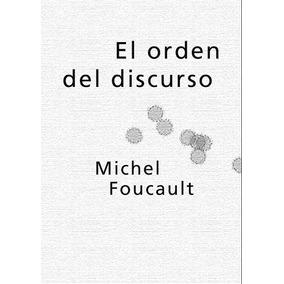 Foucault Michel - El Orden Del Discurso - Libro