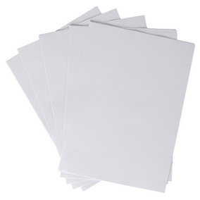 100 Adesivos Vinil Branco Impressora Laser A4 - 100 Folhas