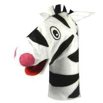 Fantoche De Zebra - Papo De Pano