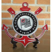 Simbolo do corinthians cortado em arte e artesanato no - Simbolo de aluminio ...