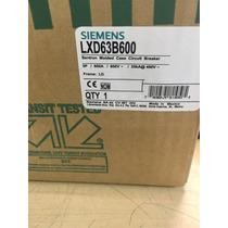 Interruptor Termomagnetico Siemens 3 Polos 600 Amp Lxd63b600