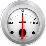 Relógio Amperimetro 52mm Cronomac Racing Carga Automotivo