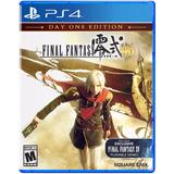 Final Fantasy Type-o Hd Juego Ps4 Playstation 4 Oferta