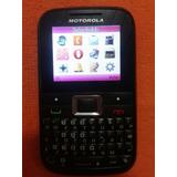 Celular Motorola Ex109 Usado 2 Chips Desbloqueado Nacional