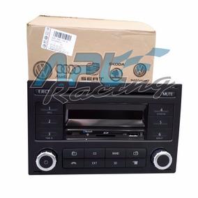 Radio Cd Player Original Fox Polo Golf Mp3 Bluetooth Usb