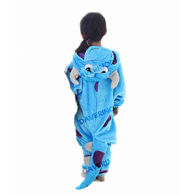 Pijama Mameluco Kigurumi Onesi Sully Monsters Inc Niño(a)