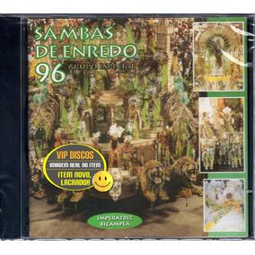 Cd Sambas De Enredo 96 Rio De Janeiro - Novo Lacrado Raro