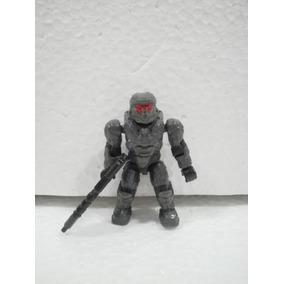 Mega Bloks Halo Spartan Visor Rojo De La Nave Mammoth Usado