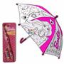 Paraguas Barbie Para Pintar Con Acuarelas Mattel Mirá Video