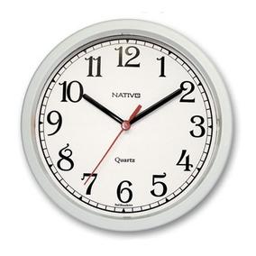 a42f354f2fe Relógio De Parede Digital E Analógico Ponteiro Sweep 30cm - Relógios ...