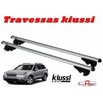 Par Travessa Subaru Forester 2013 2014 Rack Kiussi C/ Chave