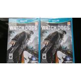 Watch Dogs Wii U Nuevo, Sellado
