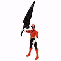 Power Rangers Samurai Ranger Fogo Articulado 11cm Bandai