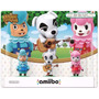 Kit Amiibo Animal Crossing Com 3 Peças Cyrus K.k E Reese